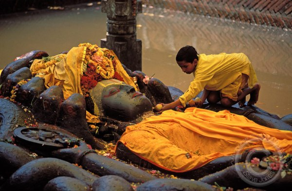 sleeping vishnu,Nepal