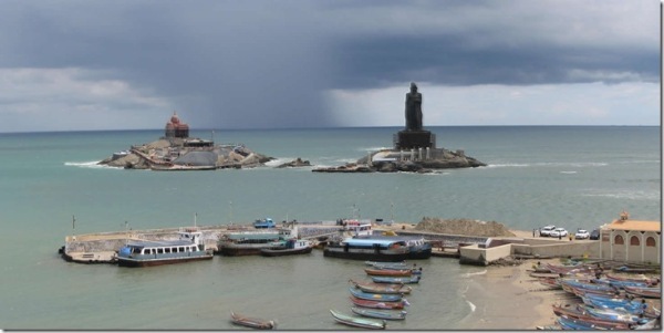 vivekananda rock and valluvar