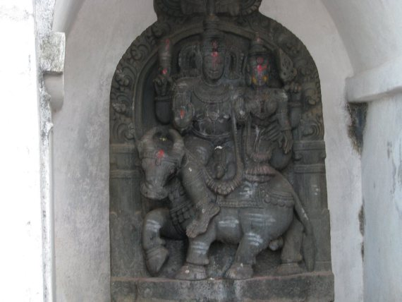 Only known statue of Lord Yama