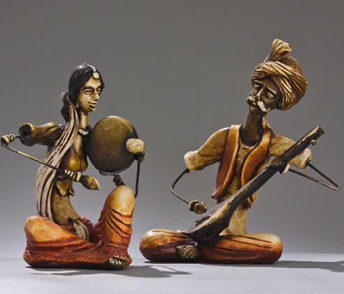 indian-figurines-banjara-musician-statues