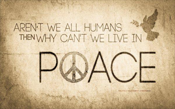 why no peace