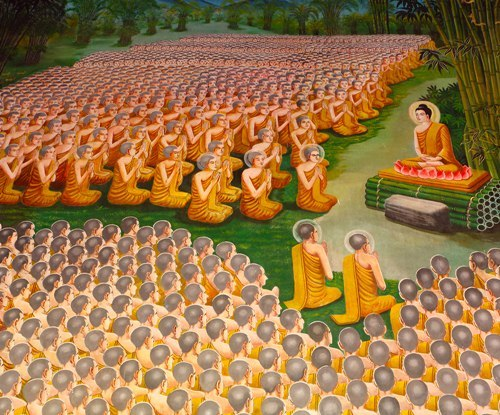 Buddha with 1000s