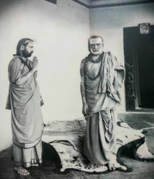 chandrasekara bharati & Abinava Bharati
