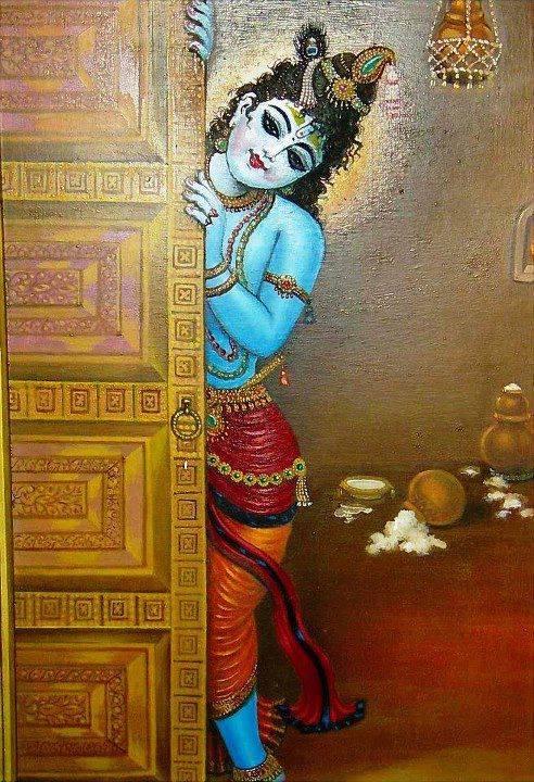 hiding krishna