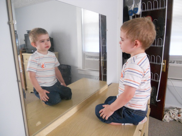 looking-at-mirror