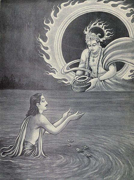 _Akshayapatra, sun god
