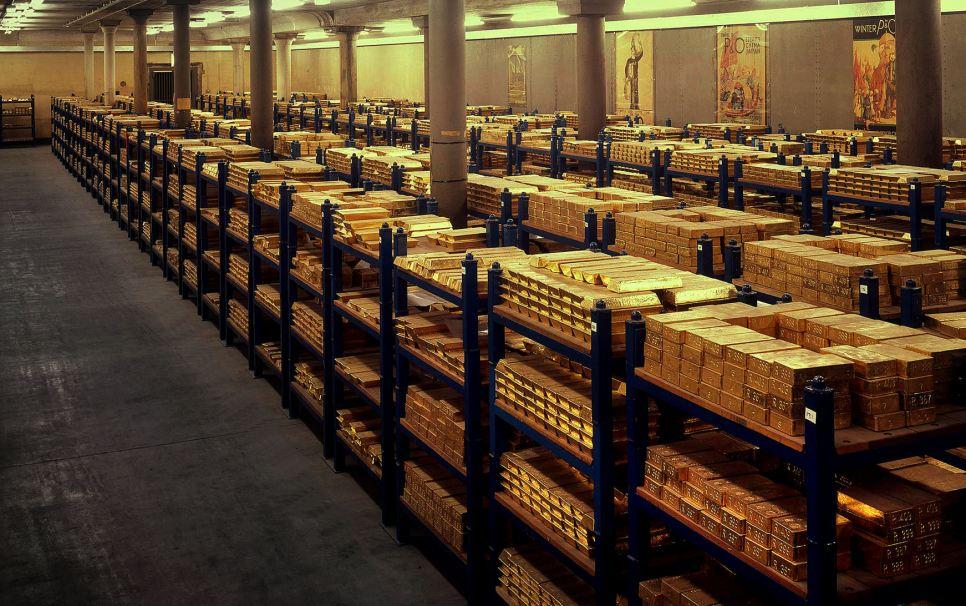 Bank of England Vault