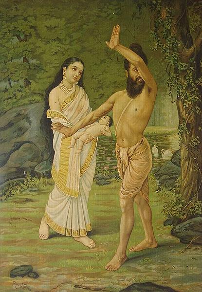 415px-Raja_Ravi_Varma_-_Mahabharata_-_Birth_of_Shakuntala
