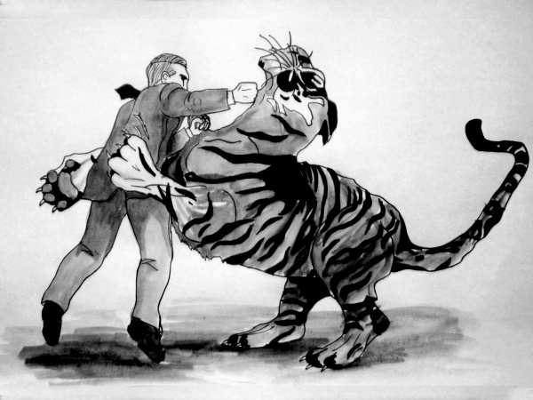 tiger fight 1