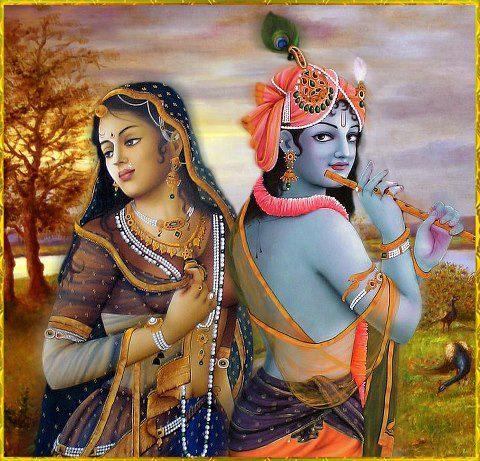 beauiful krishna radha