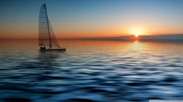 boat-in-the-sea-hd-ya-381930