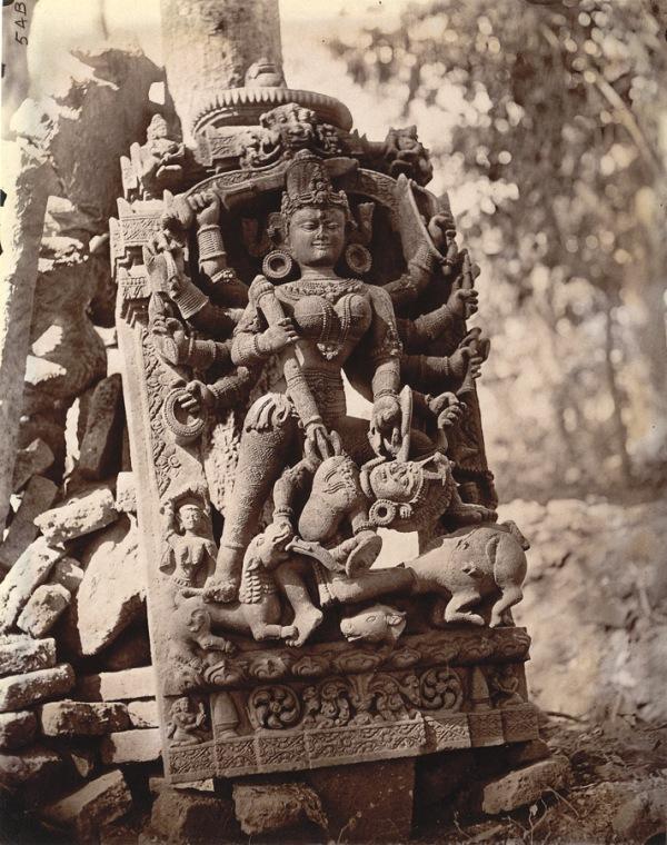 Durga in Dulmi (Jharkhand)