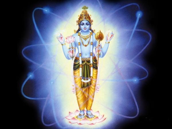 Hindu-God Vishnu image