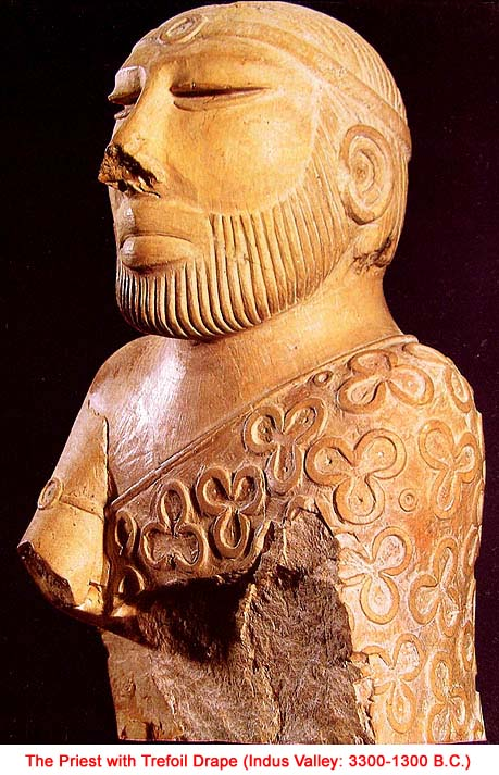 Indus priest