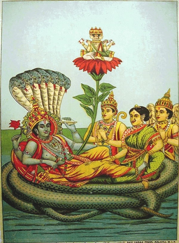 Vishnu_Laxmi_and_Serpent_Anant