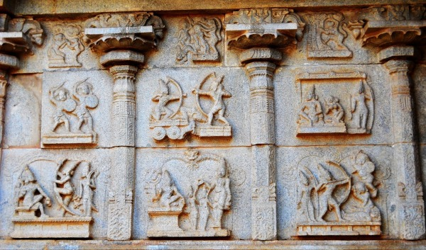 34 Hazara Rama Temple Ramayana Carvings