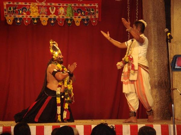 Brahmarakshas begs to a vaishnavite saint