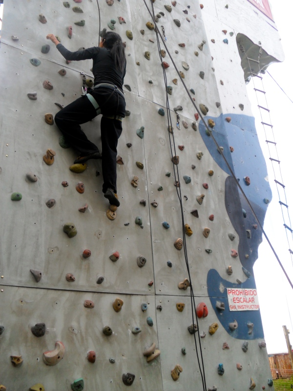 scaling wall