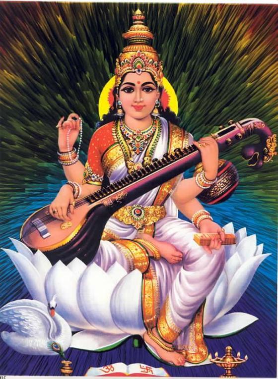 beautiful saraswati