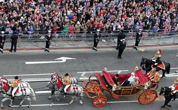 Diamond Jubilee - Carriage Procession And Balcony Appearance