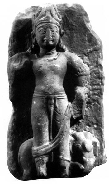 indra-mathura-sculpture-with airavata (gupta period)
