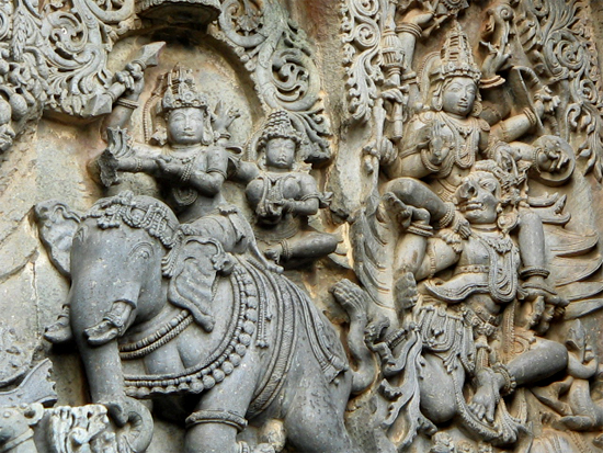 indra on elephant