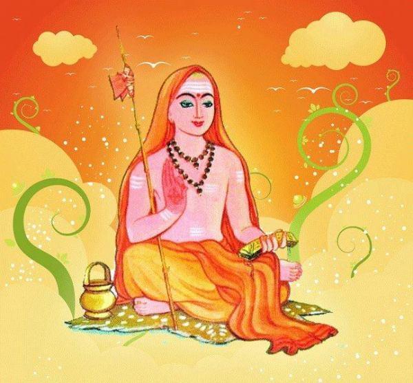 adishankara drawing
