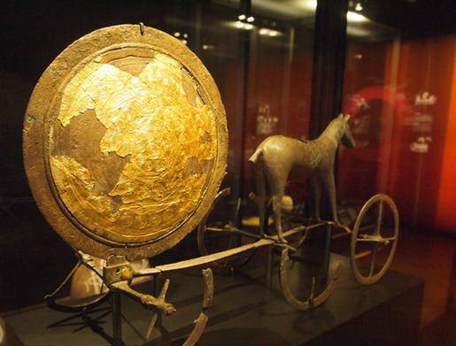 Sun chariot in Copenhagen Museum