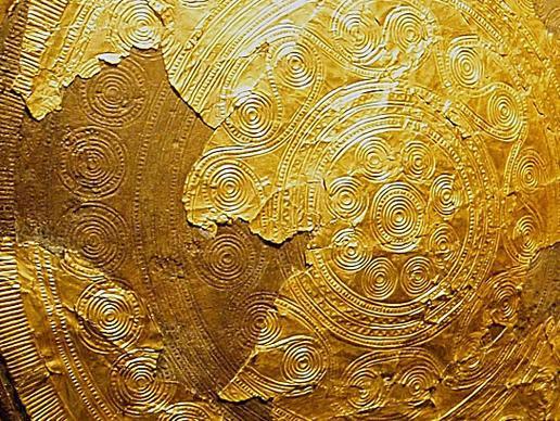 sund disc in sun chariot