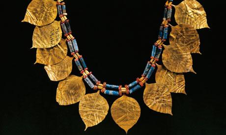 A-Sumerian-lapis-lazuli-Ur,Iraq