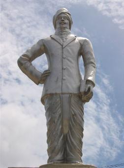bharathy statue