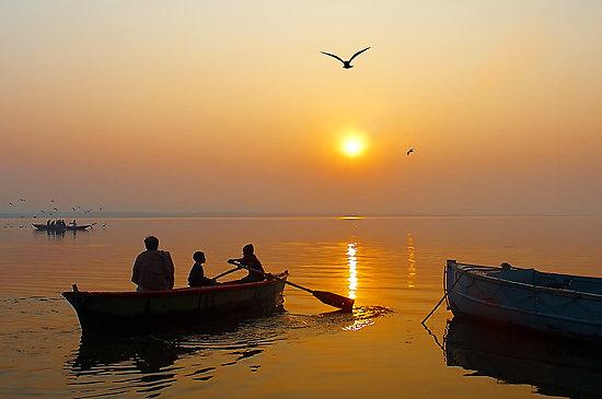 GANGA SUNSET