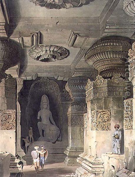 Indra Sabha in Ellora