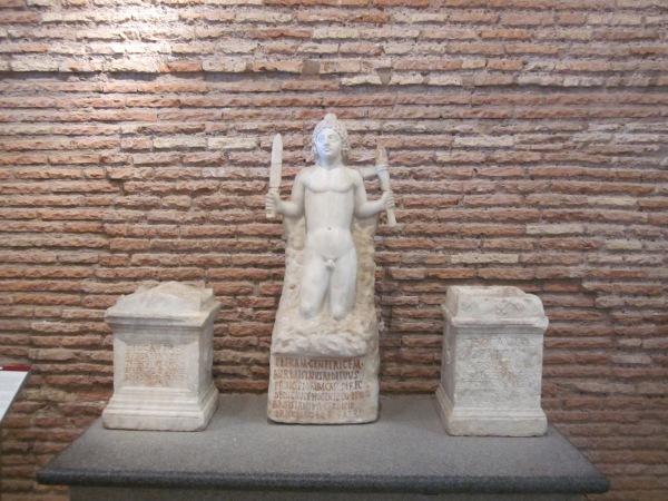 Mithras in bath