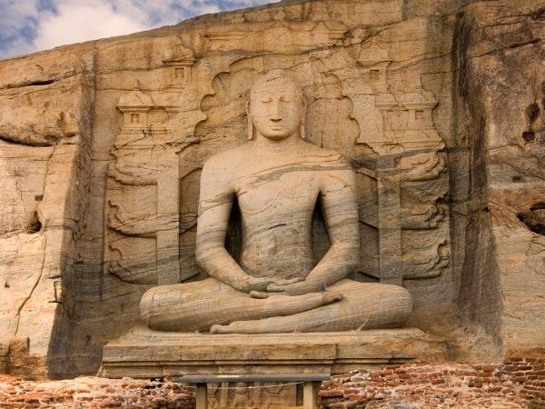 Buddhist statue, Polonnaruwa, Sri Lanka