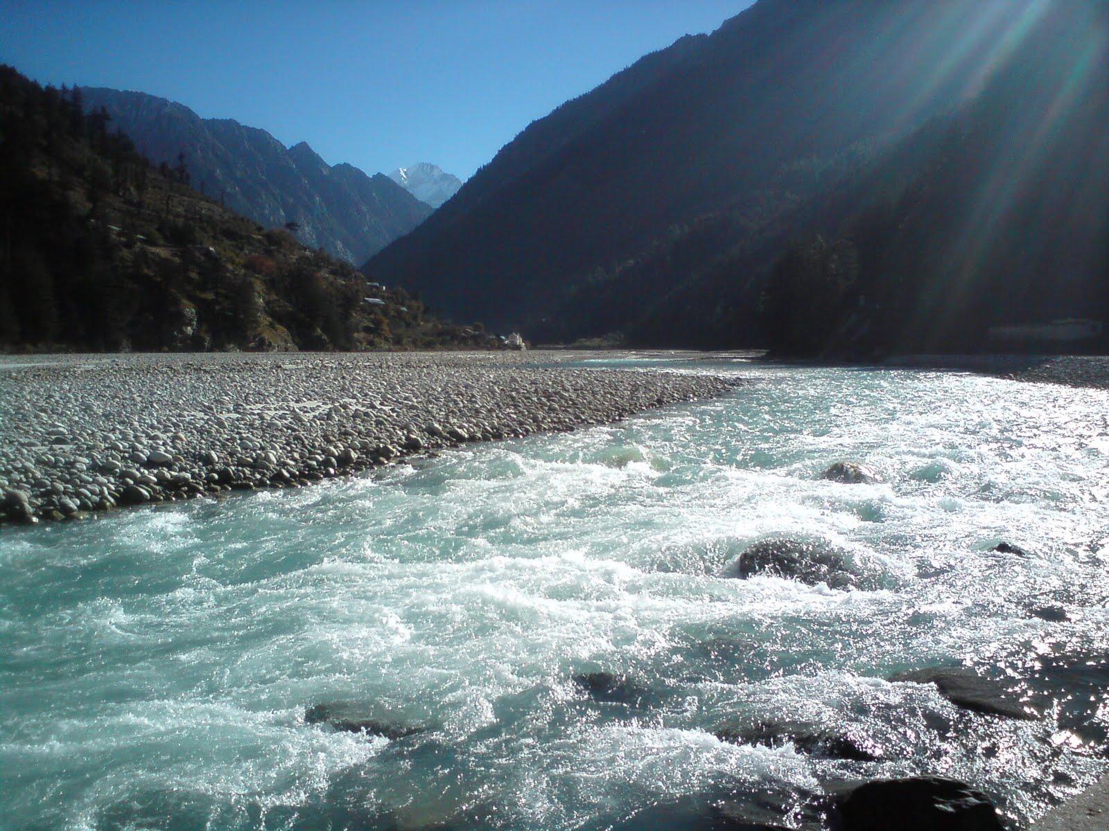 The Holy Ganga River