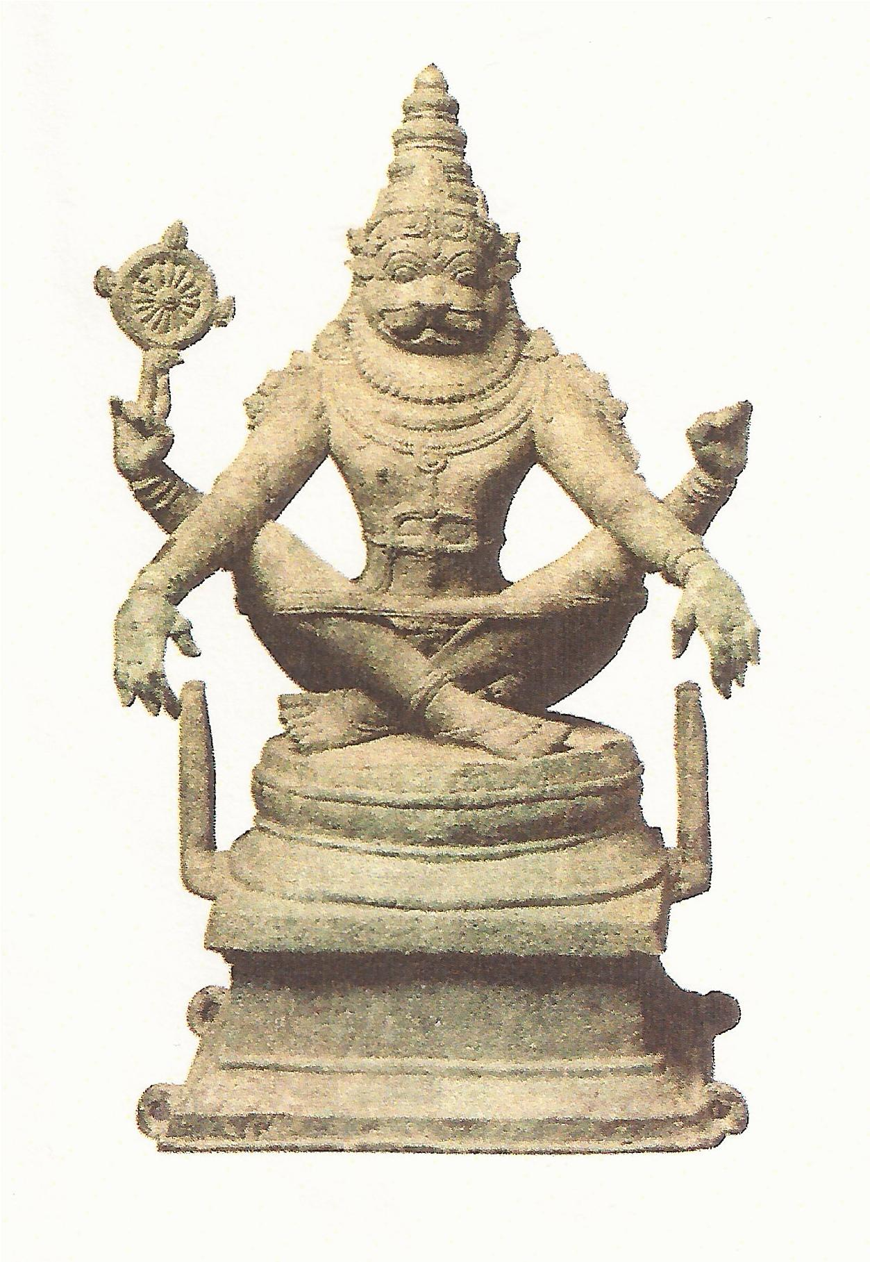 chola Bronze Narasinha