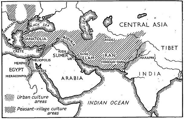 earliestcivilsation map