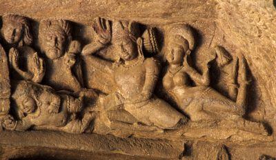 Gandharvas-Elephants