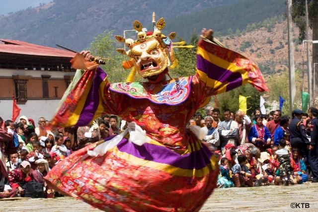 mask-dance,bhutan