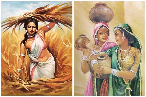 பெண்கள் ஓவியம்