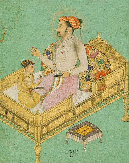 Shah_Jahan_with_his_son_Dara_Shikoh,ca._1620