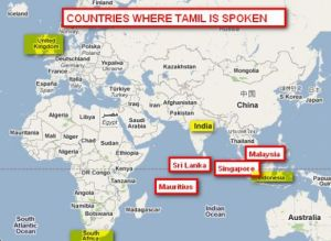 tamil countries