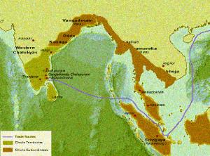 Chola-Empire-Map