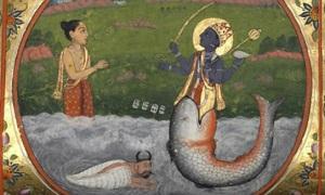 Manou-Vishnou-poisso