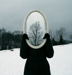 mirror-person