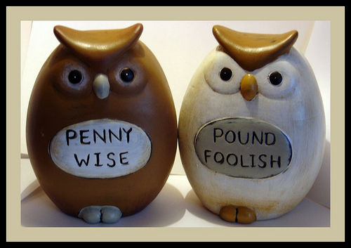 penny wise pound foolish essay If you are said to be penny wise and pound foolish, you are extremely careful with  smaller, inconsequential amounts of money, but you lose any gains you might.