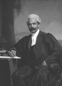 Muller Collection - Dr. W.E. Bok of Pretoria in robes and wig