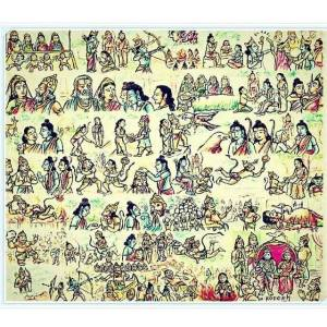 ramayana in one picture