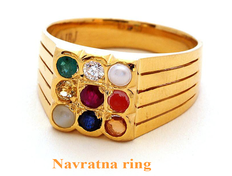 Navaratna Ring For Gents